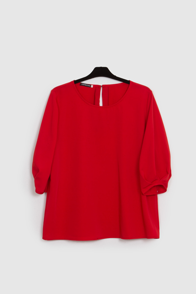 blusa red velvet- blusa mujer- lluna- primavera