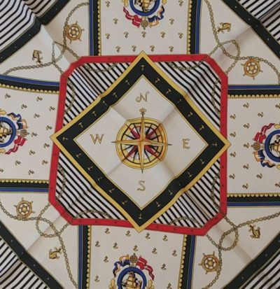 Pañuelo estampado- seda-primavera- boutique lluna