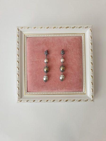 pendientes de perlas-delariss-bisuteria de alta calidad
